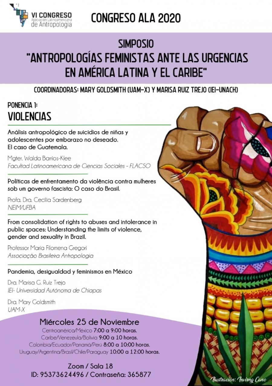 Simposio Antropologías feministas ante las urgencias en América Latina y El Caribe