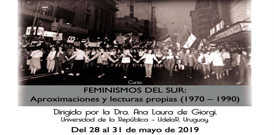 Curso Feminismos del sur: Aproximaciones y lecturas propias (1970 - 1990)